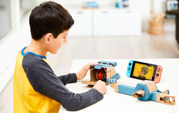 Nintendo Unveils Labo