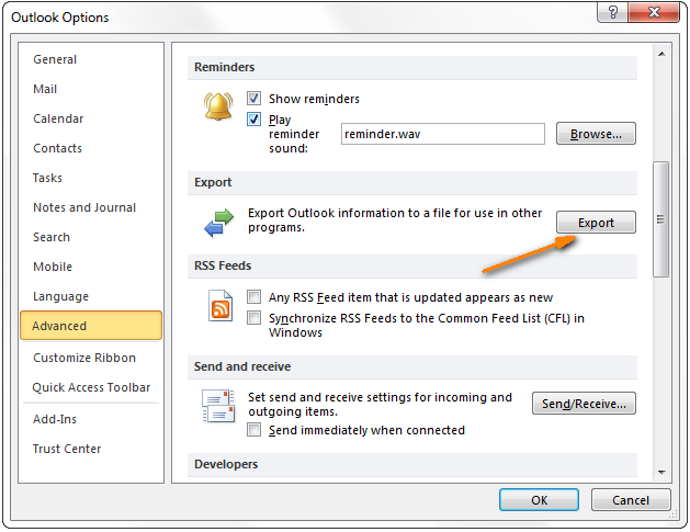 Transferring Contacts from Excel to Outlook 2010 in 3 Easy